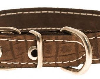 Premium dog collar, Leather dog collar, Pet collar, Pet gift, Custom dog collar, Dog leather collar,  Happy dogs collar, Classic collar