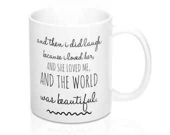 Valentines day gift // Maggie Stiefvater // bookstagram prop // love quote // ya quote // boyfriend // girlfriend