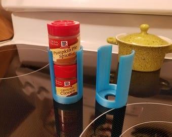 Spice Stacker 3D printed, spice container spice rack spice jar organization kitchen organization spice jar storage