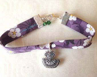 Mitsi purple corset
