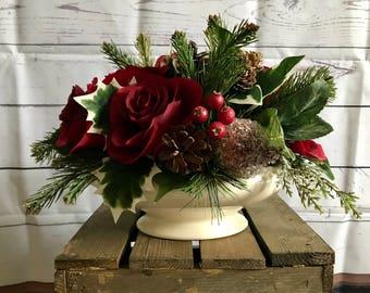 Sweet Christmas Floral Arrangement