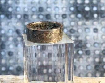 Size 6-1/2 2001 Kentucky Quarter Coin Ring