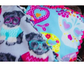 Dog and Cat Fleece Blankets