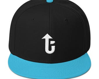 LevelUp 3D Puff front and back Snapback Hat