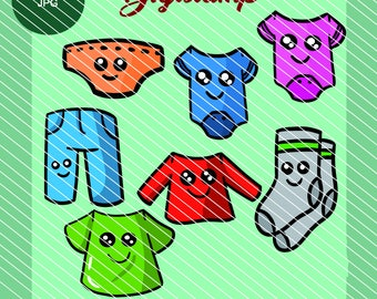 Digistamps: Clothing