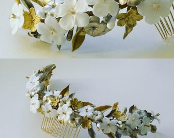 Gold and Champagne comb