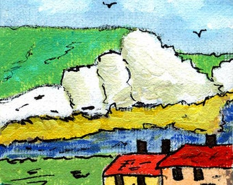 Greetings Card - Cuckmere Haven