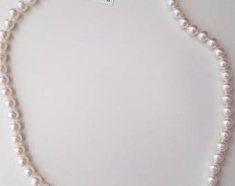 Pearl Necklace 7-75MM 18K White Gold