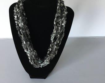 2 for 10  BEAUTIFUL  Metallic trellis adjustable necklaces  SALE