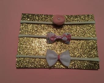 Newborn headband set