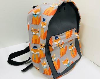 Mini hispter fox back pack