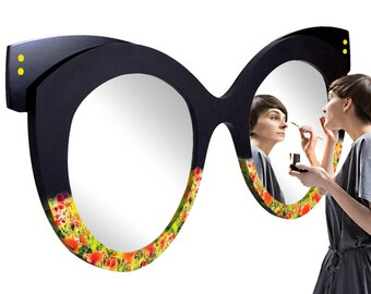 "Mirror glasses ""Flower meadow""/Mirror glassses ""Flower Meadow"""
