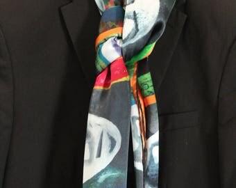 Silk scarf sarong wrap shawl...