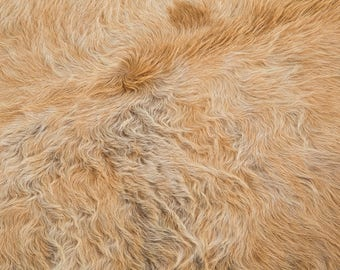 Blonde / Champagne Cowhide Rug - GENUINE BRAZILIAN COWHIDE