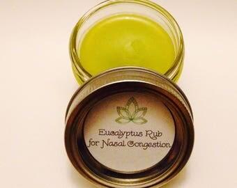 Eucalyptus Rub for Nasal Congestion