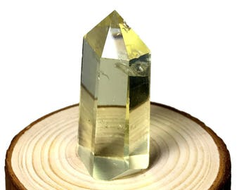1.6''  100% Natural citrine quartz Crystal wand point,Chakra crystal point ,healing crystal wand point  S020