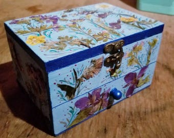 Wildflower Jewelry Box