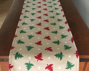 Christmas Sofa Table Runner