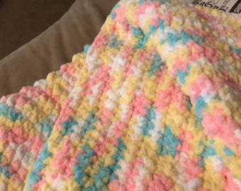 Baby girl baby blanket