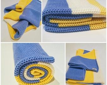 Handmade baby blanket/Toddler blanket