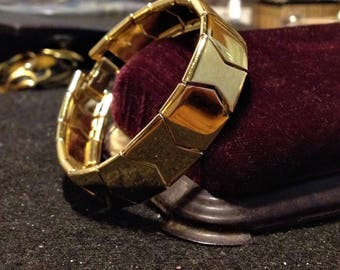 Napier Gold Hexagon Bracelet