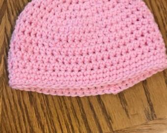 Handmade infant girl hat