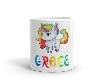 Grace Unicorn Mug