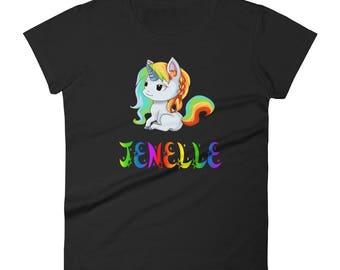Jenelle Unicorn Ladies T-Shirt