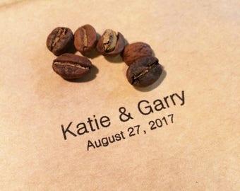 Wedding Favors - Fair Trade Coffee