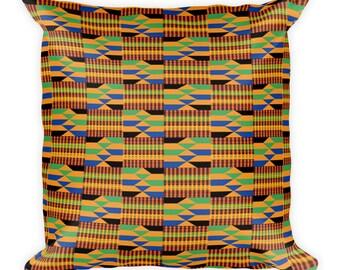 Kente Square Pillow