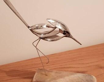 A wild bird figurine