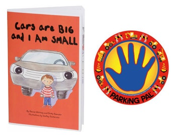 Parking Pal Car Magnet Safe Spot to Stand and Safety Book