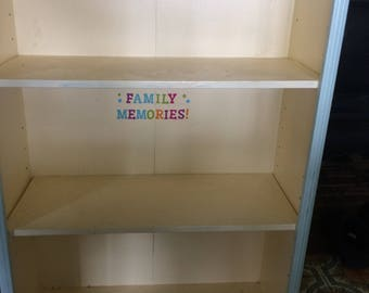 Personalized Shelving