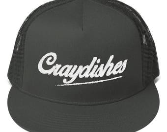 Craydishes Mesh Back Snapback