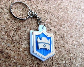 Clash Royale Keychains/ClashRoyale/Colorful/Beautiful Gift/Cool Keychain/Supercell/Unique Gift
