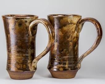 Set of Two Large Mugs
