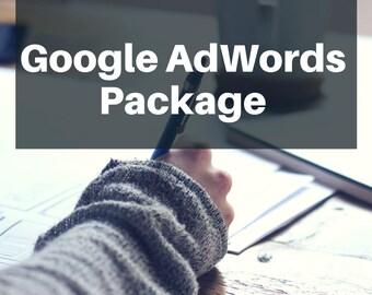 Google AdWords Package - Website Help - Improve Website - Marketing/Promotional