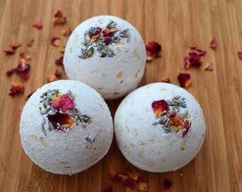Lavender Rose Bathbomb