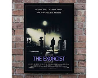 The Exorcist classic movie artwork cover home decor poster
