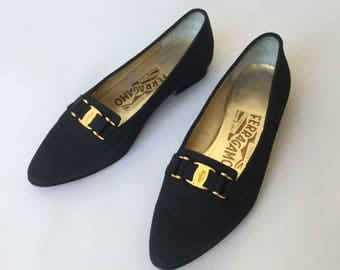 Savatore Ferragamo Flat Shoes