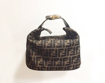 Fendi Vintage Cosmetic Pouch