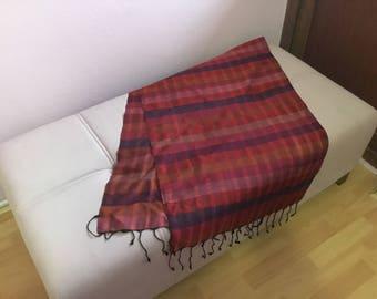 Hand loom made scarf