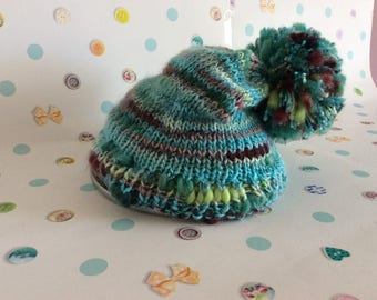Girls Slouch bobble hat and neck warmer super soft