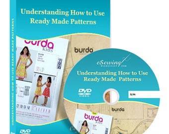 Understanding How to Use Ready Made Patterns Video Lesson on DVD