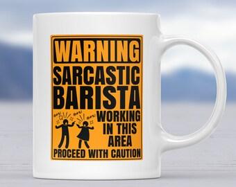 Coffee Mugs Baristas, Mug Barista, Gift For Barista, Gifts For Barista, Gifts For Baristas, Coffee Mug Baristas, Funny Mug, Barista Mug