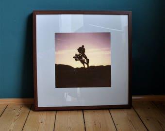 "Poster print art print ""Joshua Tree"" California/Desert/Landscape/photography/polaroid/Wall decoration/pressure/Photo/Natur"