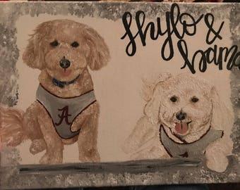 Custom Dog Paintings