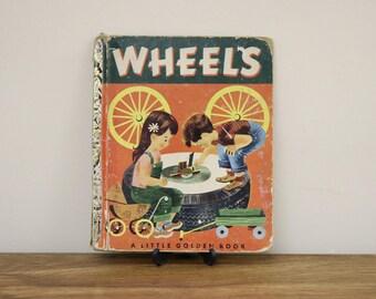 "Vintage 1952 Little Golden Book ""Wheels"" by Kathryn Jackson - Rough Copy"