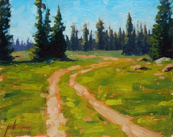 Road To Nowhere 8x10 Oil Painting