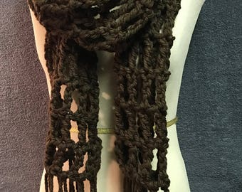 Mocha Brown Scarf